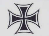 IRON CROSS 3D EFFECT FRIDGE MAGNET
